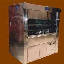 Vitrinas refrigeradas-horno ecologico para pollos a la brasa-caja china