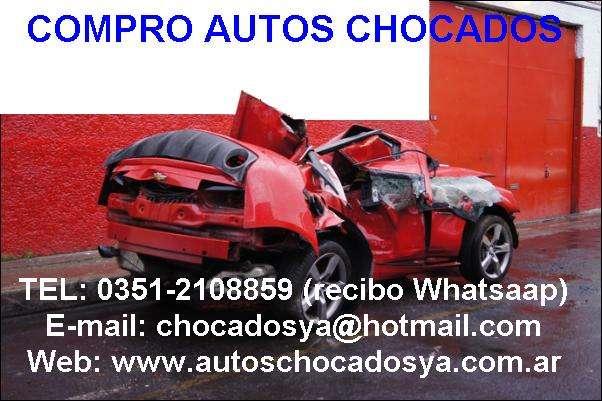 Compro autos chocados y volcados