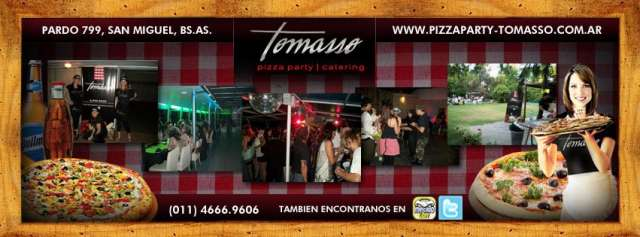 Tomasso pizza party & catering