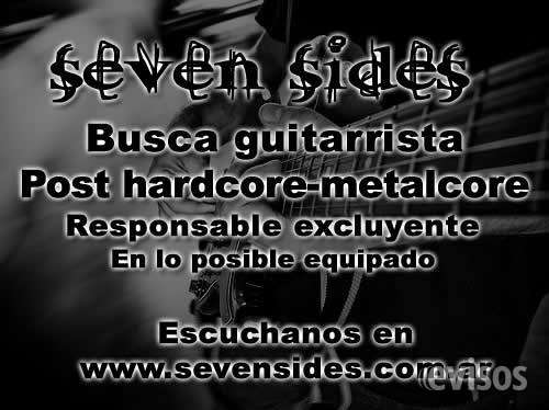 Se busca guitarrista para post-hardoce-metalcore