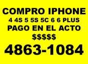 Compro iphone   pago en el acto comunicarse al 48…
