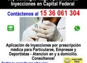 APLICACION DE INYECCIONES Intravenosa - Santiago en Recoleta Tel *1536061304*