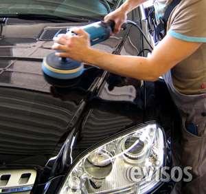 Pulidos, lustre, limpieza,lavado de tapizados de autos cordoba