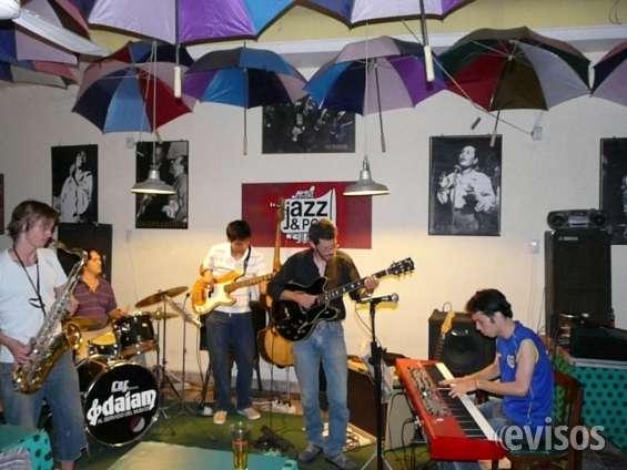 Banda de jazz, musicos para eventos y fiestas