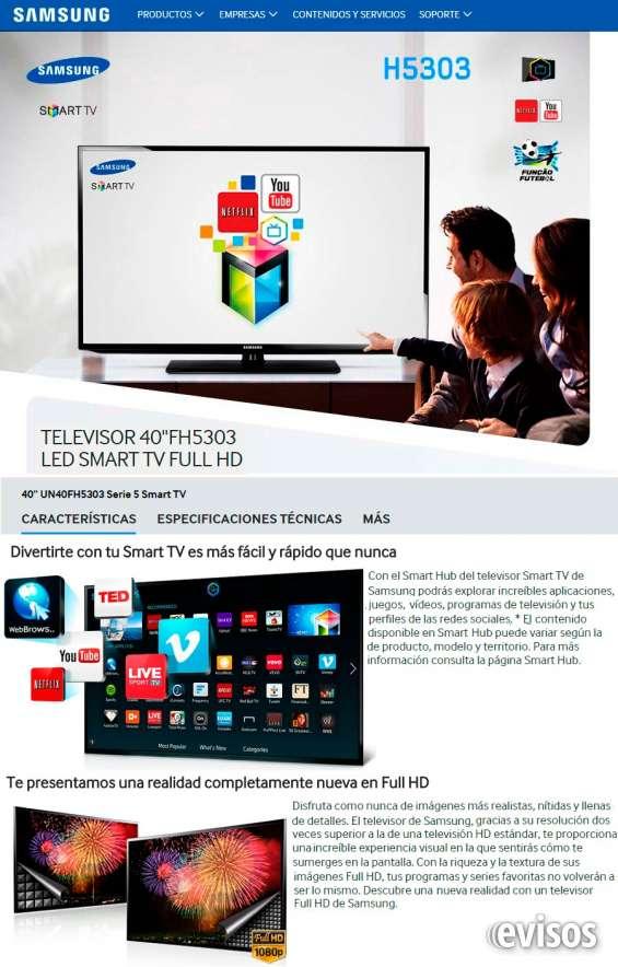 Fotos de Tv led samsung 40 unj5300 nuevos con garantia electrolibertad 2
