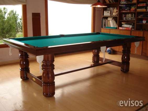 Mesa de pool con tapa living y ping pong