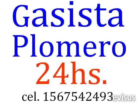 Plomero gasista de 1ª calidad emergencias las 24hs 1567542493