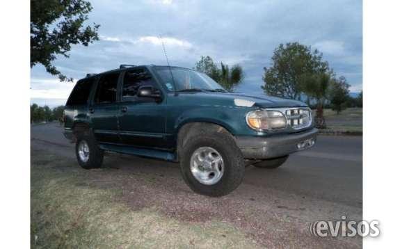 Vendo ford explorer 4x4 gnc
