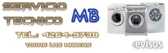 Servicio tecnico de lavarropas en adrogue 4264-9738