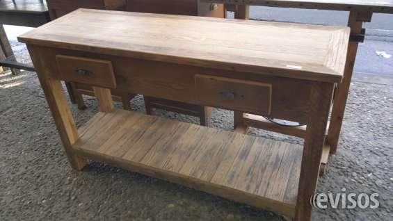 Mesa de arrime de pinotea