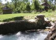 cabañas con piscinas