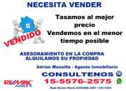 Necesita Vender? en Caballito, Belgrano R, Palermo, Barrio Norte  Tfno *15-5576 2575*
