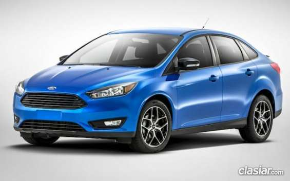 Ofrecemos plan ovalo ford 2015 focus restyling urgentísimo.