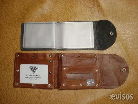 nueva estilos 2097c ef185 Billeteras marca el-tchanek originales, cuero muy fino