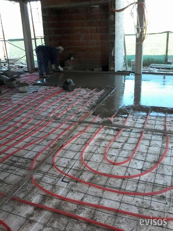 Colocacion de piso radiante