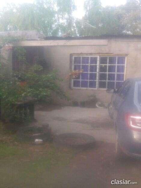 Es urgente casa con terreno en el kilómetro 34 en excelente estado.