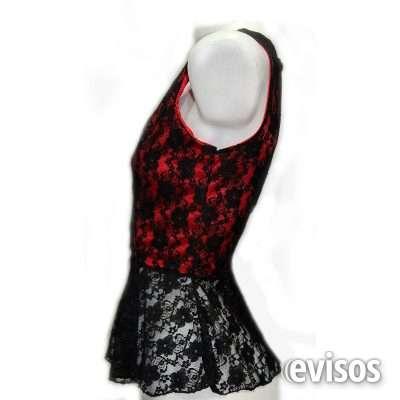 Fotos de Blusa encaje roja arreglo a medida ===escucho oferta=== 3