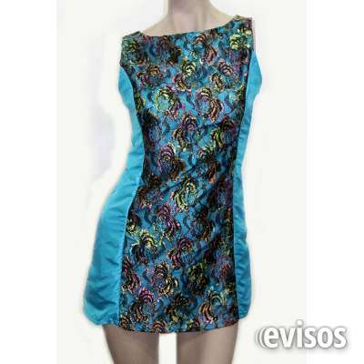 Vestido corto turquesa arreglo a medida ===escucho oferta===