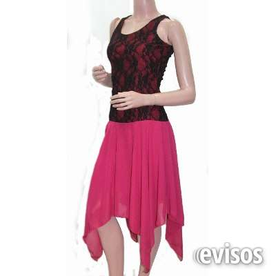 Fotos de Vestido fucsia encaje arreglo a medida ===escucho oferta=== 2