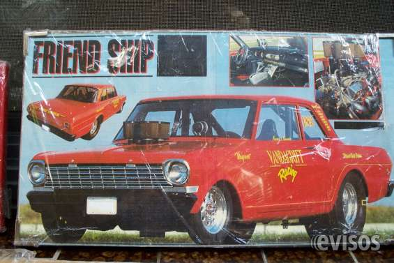 Cuadro  chevy two dragsters+1963