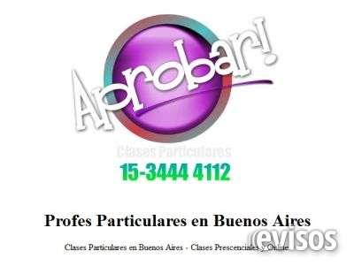 Clases particulares matematica i ii iii iv.