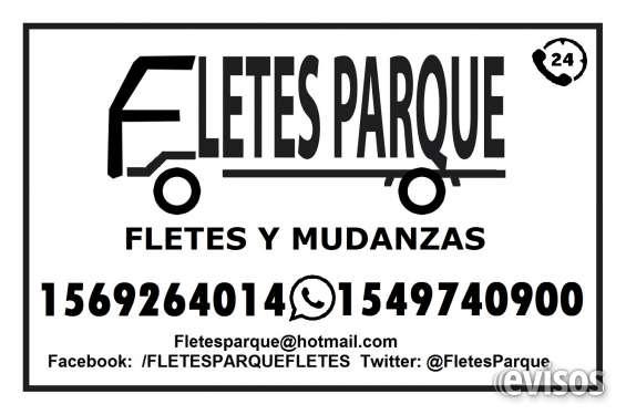 Fletes parque mudanzas - fletes 24hs