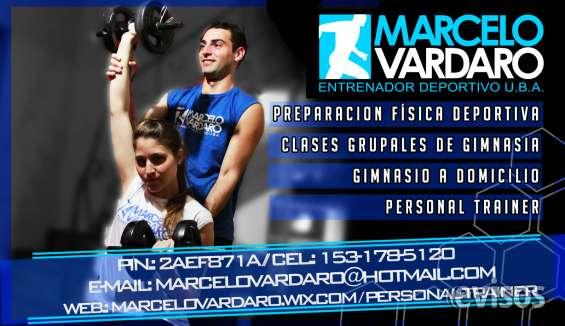 Marcelo vardaro personal trainer
