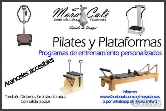 Clases de pilates y plataforma
