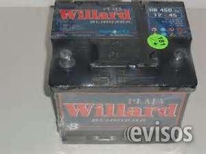 Vendo 2 baterias willard nuevas de 12x45 cada una $1300