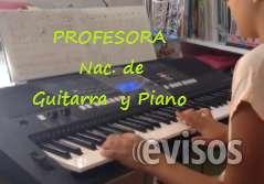 Profesora titulada de piano guitarra audioperceptiva -a domicilio -extranjeros discapa