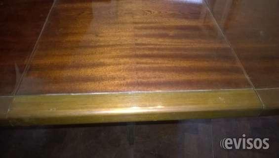 Vendo mesa comedor de madera redonda con extensión en Chacarita ...