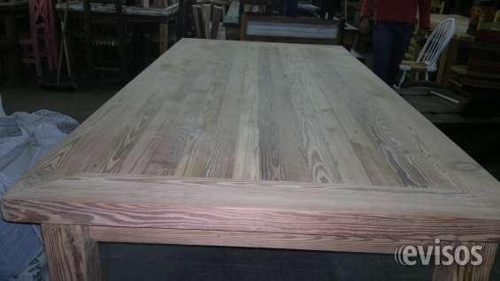 Mesas de pinotea, varias medidas