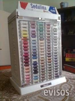Exhibidor guterman con 500 hilos 100 colores