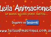 Leila animaciones - animación de fiestas infantiles, cumpleaños, eventos empresariales www.leilaanimaciones.com.ar