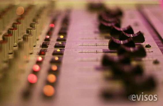 Estudio de grabacion ,demos para solistas, producción musical