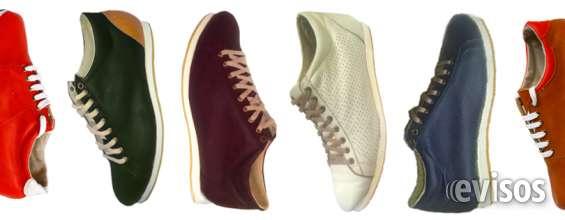 Zapatillas urbanas de cuero hasta el talle 52