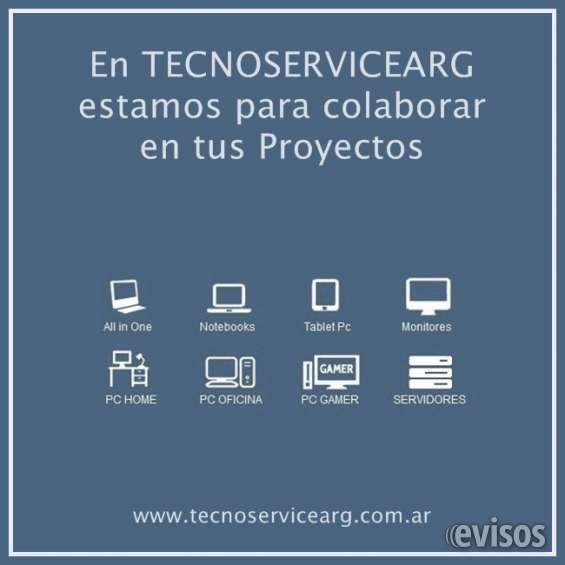 En tecnoservicearg estamos para colaborar en tus proyectos