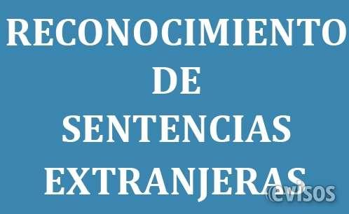 Exequatur en buenos aires y san isidro,argentina. de sentencias extranjeras de divorcio