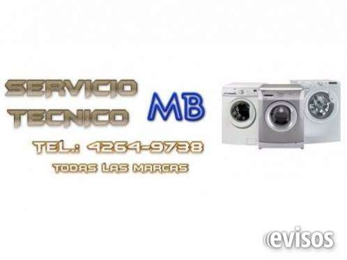 (( gba 4264-9738 )) servicio técnico de lavarropas en temperley