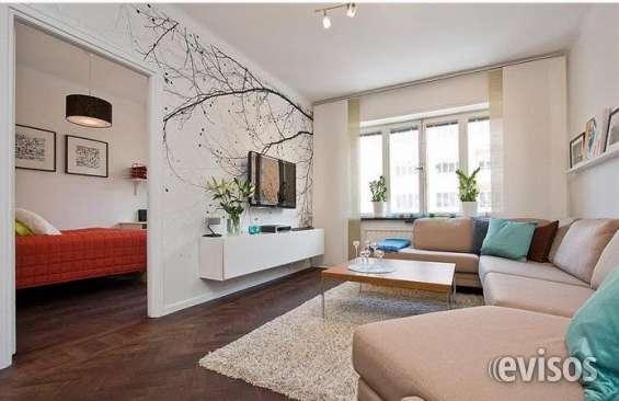 Mir515- living y dormitorio por $ 13.895 por mes 2 ambientes en cuotas de $ 13.900.- se ve