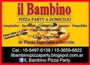 PIZZA PARTY A DOMICILIO CAPITAL FEDERAL 1554976138