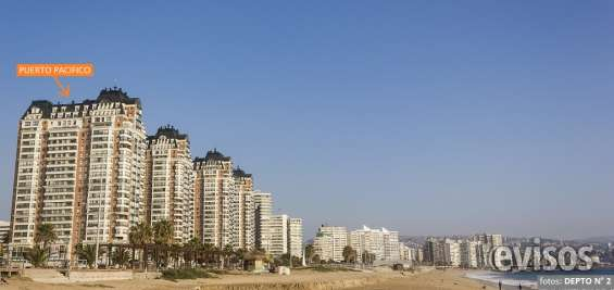 Alquiler viña del mar, frente playa, para 8 personas ideal 2 familias