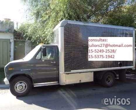 Fletes mudanzas camiones con pala hidraulica y furgones a todo el pais