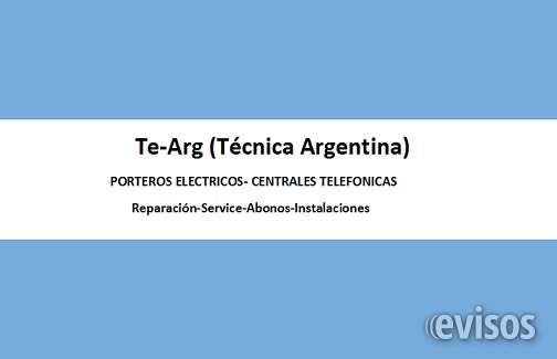 Porteros eléctricos- 4672-5729 (15) 5137-1697-reparación-service-abonos-instalaciones-
