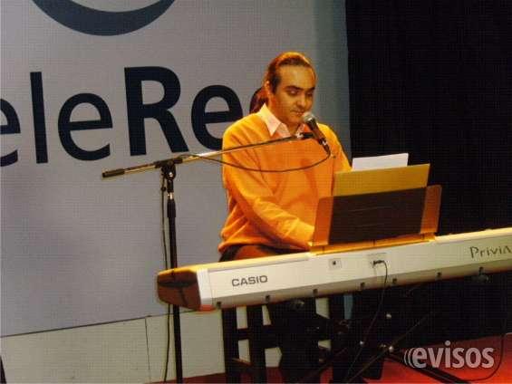 Canto-piano . enseñanza y espectaculos