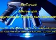 Microscopia - limpieza y reparacion