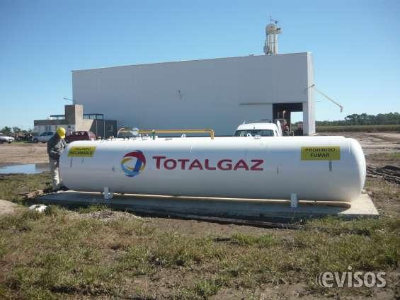 Gas a granel en córdoba totalgaz - instalación de garrafones, tanques.