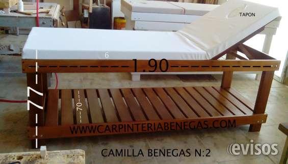 Camillas fabrica en mar del plata