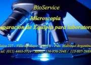 Microscopia - reparacion y limpieza