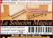 Burlete vayviene evita filtraciones bajo la puerta